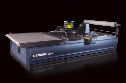 Gerber Paragon flerlagers skärmaskin,Gerber Paragon Multi-Ply Conveyorized Cutting System